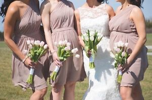 Rum Pink Alfred Angelo Bridesmaid Dresses