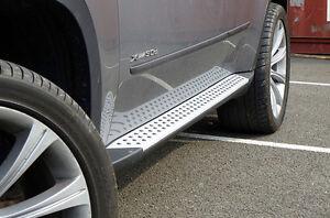 Genuine BMW X5 (E70) Aluminum Running Boards