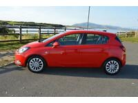 2016 16 VAUXHALL CORSA 1.4 SE 5dr Auto in Power Red