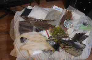 Fly fishing tying kit all vintage