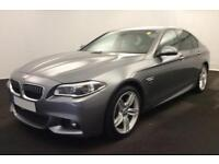 2014 GREY BMW 530D 3.0 M SPORT DIESEL AUTO 4DR SALOON CAR FINANCE FR £67 PW