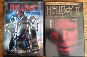 Hellboy + Hellboy II: The Golden Army - 2 DVD collection