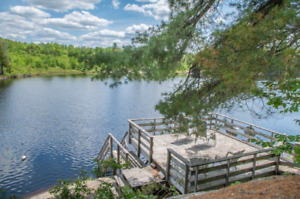 Muskoka cottage for rent this weekend waterfront