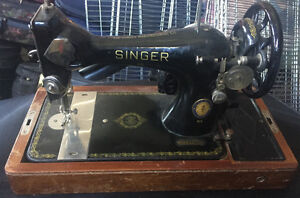 5 Vintage Singer Sewing Machine
