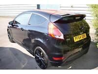 2015 64 FORD FIESTA 1.0 EcoBoost 140 Zetec S Red 3dr in