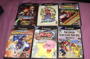 Nintendo GameCube & N64 AND GAMES, CONTROLLERS, ETC..