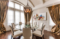 Magnificent Dining Room Table & Base