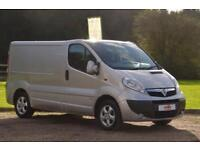 2012 12 VAUXHALL VIVARO 2.0 CDTI 2700 SPORTIVE SHORT WHEEL BASE PANEL VAN