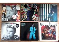 DAVID BOWIE Vinyl Records ORIGINAL FIRST PRESSINGS