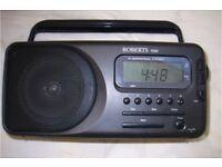 Roberts Alarm Radio, mains or battery