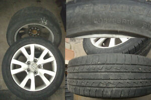 One Pair of Tires/Rims For Mazda (2 Only)