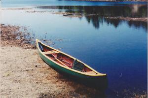 1893 Peterborough Canoe