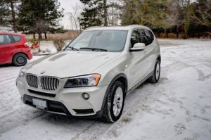 2011 BMW X3 FULLY LOADED LOW KMS
