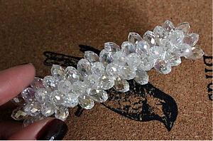 Edle Luxus Haarspange mit Swarovski Kristall Tropfen (C) NEU + Viel mehr im Shop