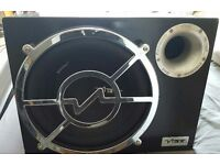 """10"""" Vibe Active Subwoofer with built in amp"""