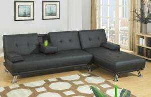 BRAND NEW! Stylish Adjustable Sofa Bed and Chaise