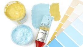 Painting decorating and laminate flooring
