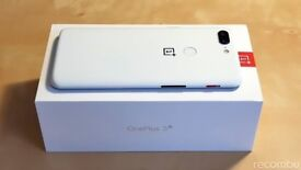 OnePlus 5T Sandstone White Limited Edition 128 gb 8 ram