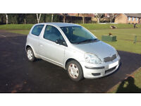 2003 Toyota Yaris 1.0 VVT-i T3 3dr MMT. Silver. 35761 miles.