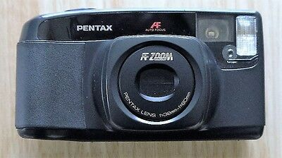 Pentax AF Zoom macro 70-S Camera and case