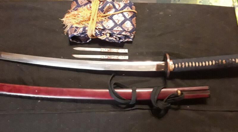 antique japanese sword
