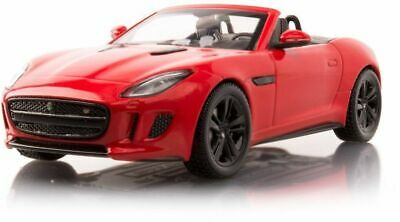 Jaguar F type V8 S Convertible Salsa Red  IXO 1-43 scale Model Car ref gj