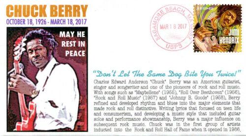 COVERSCAPE computer designed Chuck Berry Memorial event cover