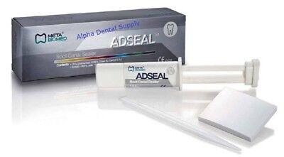 Meta Biomed Dental Adseal Root Canal Sealer 13.5 Gm Dual Syringe Pack