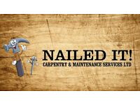 Nailed It Carpentry & Maintenance Services