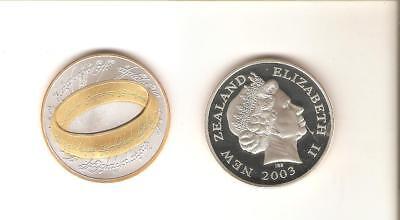 HERR DER RINGE LORD OF THE RINGS Promotion Medaille DER EINE RING