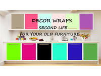 DecorWraps KITCHEN DOOR WRAPPING WORKTOPS WRAPPING KITCHEN UPGRATE BEST QUALITY BEST PRICE