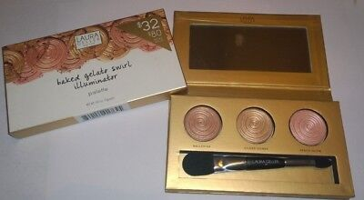 Laura Geller Baked Gelato Swirl Illuminator Highlighter Palette - New in Box