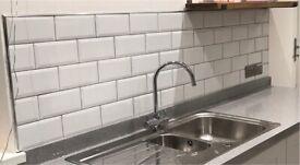 White Metro Brick Tiles