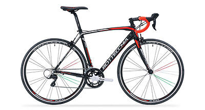 Bottecchia Duello Road Bike size 57 105 Mix Black/Fluo Red Matte