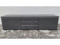 TV Unit - High Gloss Grey