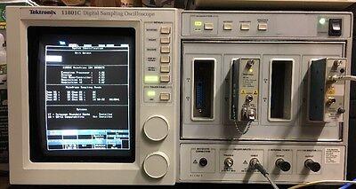 Tektronix 11801c Dso Sd-22 Sd 44 Sampling Head 15ghz Oe