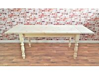 New Pine Dining Table / Extending Table - in Huge Range of Adaptable Sizes!