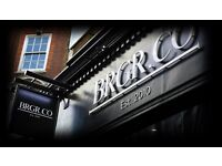 Grill Chef. BRGR.CO. Battersea. Immediate start. Excellent hourly rate.