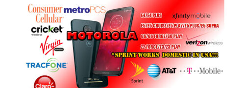 Motorola Remote Unlock Service All Models Supported