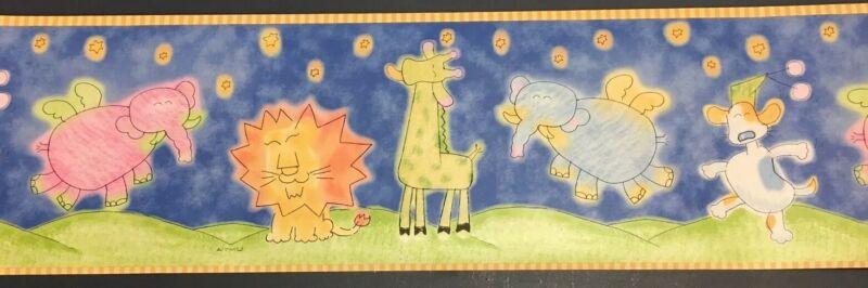 WALLPAPER BORDER wall John Lennon animal Emu Namae Japanese Art Carter