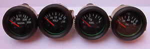 Gauges-Set-4-pc-Oil-Pressure-Temperature-Volt-Fuel-Gauge-2-Electric