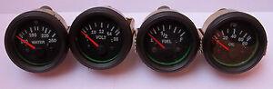 Gauges-Set-4-pc-Oil-Pressure-Temperature-Volt-Fuel-Gauge-2-Electric