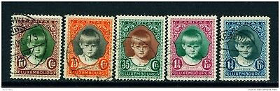 LUXEMBOURG - 1928 Child Welfare Set Used as Scan
