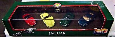 4 JAGUAR MODELS COLLECTION XJ-13 XKSS XKE XKR JAGUAR CLASSIC SPORTSCAR SET 4 CAR