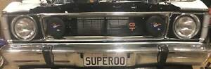 """XY XW GT Falcon """"SUPEROO"""" number plates - Make an offer"""