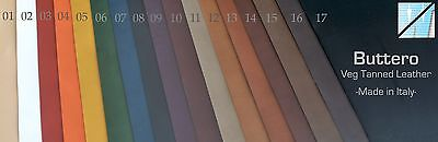 Buttero Veg Tanned Leather - 3oz (1.2mm) - Made in Italy