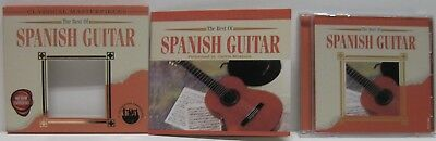 Classical Masterpieces The Best of Spanish Guitar CD Carlos Montoya Excellent