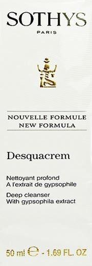 Sothys Desquacrem Deep Pore Cleanser 50ml Brand New
