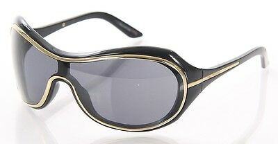 VALENTINO Shield Sunglasses - Funky style and a flash of gold! - Cheap Funky Sunglasses