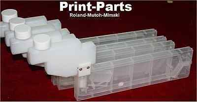 4 Colors Bulk Ink System for Roland Mutoh Mimaki Epson Solvent Printers